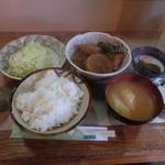 きし美 - ブリ大根定食500円