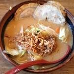 34564587 - 野菜ラーメン(チャーシュートッピング)