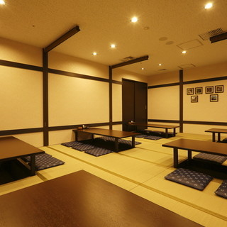 上質な空間で30名以上の大宴会できます!個室貸切もどうぞ◎