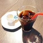 カウタウ - セットのアイスコーヒー