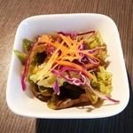 カウタウ - セットのサラダ