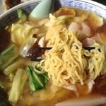龍園 - 麺はこんな感じ