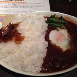 Grello - ハヤシライス大盛り(500円+100円)。