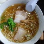 日新町 ハトヤ食堂 本店 - 野菜はハトヤ流~(今回は菜の花)全体的に盛りが良い印象
