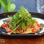 こ卯さぎ亭 - そばサラダ