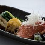 かちゃ料理 むとう - 魚と野菜の煮物
