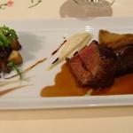 Restaurant Régis & Jacques Marcon - メインは牛ヒレ