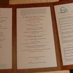 Restaurant Régis & Jacques Marcon - 今日はマッシュルームのデギュスタシオン