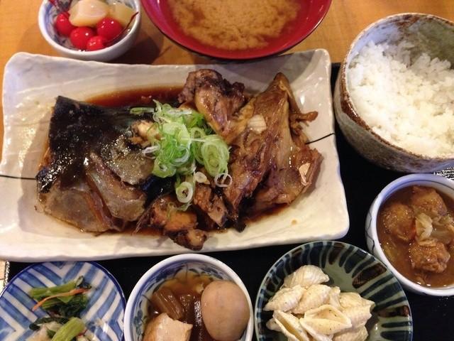 うお浜 - ランチかぶと煮 780円税込