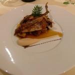 Restaurant Régis & Jacques Marcon - なんと半身はサプライズで仕立てを変えて