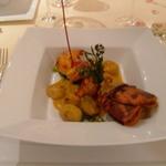 Restaurant Régis & Jacques Marcon - 前菜にブルトンのオマール