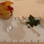 Restaurant Régis & Jacques Marcon - アミューズ
