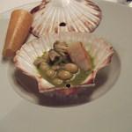 Restaurant Régis & Jacques Marcon - 帆立もおしゃれになりました