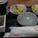 菊寿司 - ランチ(お通し)