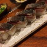 滋味創菜 たちばな - 焼き鯖寿し