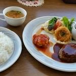 展望レストラン・ワンピース - 日替りセット(税込1,000円)