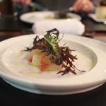 ヴィーニ デル ボッテゴン - 愛知県産・三河湾で獲れた天然黒鯛のカルパッチョ☆