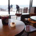 スターバックスコーヒー - 諏訪湖が目の前に!
