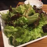 新鮮ホルモン豚風 - チョレギサラダ
