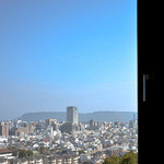 讃州めんめ - 店内から観える景色・正面は屋島