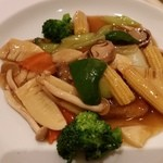 健福 - 鱈風野菜あんかけ