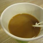 みつせ鶏本舗 - コーヒーは1杯サービスです