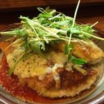 マブヤ - チーズチキンカツをトマトソースでガッツリ☆