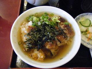 一富士 - ひつまぶし。(after) 「ウナ茶漬け」