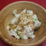 ピエトロ・コルテ - デザート代わりに豆腐を頂く。
