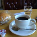 サン・ウエスト - ドリンク写真:昔ながらの喫茶店(^^) おちつけますね(*^^*)