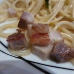 サイトウ洋食店 - <2015/01/28>自家製ベーコンの白ワインソースパスタ
