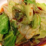 台湾麺線 - レタスのおひたし
