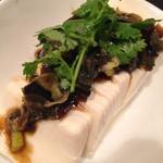 台湾麺線 - ピータン豆腐