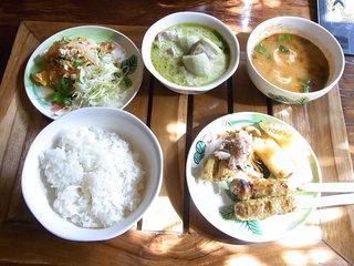 熱帯食堂 - スペシャルランチ¥1500☆♪