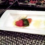 34589255 - トマトとモッツァレラのサラダ