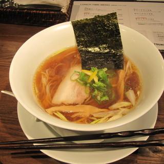 月島ロック - 料理写真:6/8(ハチロク)醤油ラーメン850円