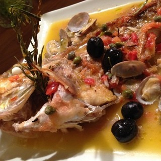 魚介類を中心としたイタリアンを♪
