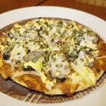 カレーのアキンボ - 牡蠣ピザ