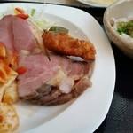 34591366 - 15.01.28:コールドミート、アボカドシーザーサラダ、豚しゃぶ