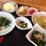 縒りあい処 空間 - 野菜アラカルト  温野菜です。