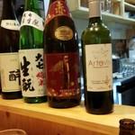 第三秋元屋 - お酒の数々