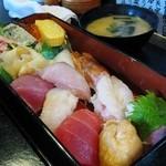 どんなもんや - お寿司定食 @800