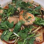 34594251 - 定番のトムヤムラーメン (中華麺)