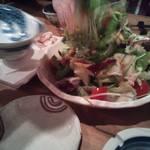 魚じょんがら べたなぎ - サラダ