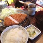 金沢かつぞう - 能登豚ロースカツ定食@1,780