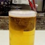 どんがらがっしゃん - 100円グラスビール