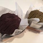 ろまん亭 - 抹茶チョコモンブラン&ほうじ茶チョコモンブラン(各432円)