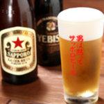 ご馳走居酒屋 三船  - 三船敏郎さんの名フレーズ 男は黙ってサッポロビール!