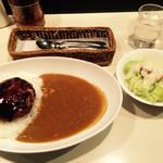 34600511 - ハンバーグカレー ¥1,150☻                       2015/1訪問^ ^