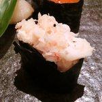 34601469 - <'15/01/23撮影>日替わりランチ 1100円 の蟹のほぐし身
